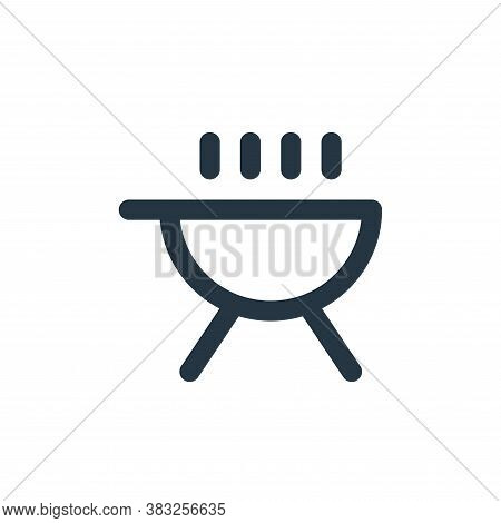 barbecue icon isolated on white background from holiday collection. barbecue icon trendy and modern