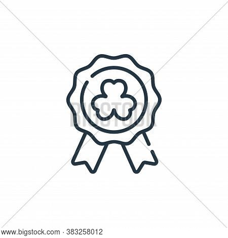 badge icon isolated on white background from ireland collection. badge icon trendy and modern badge