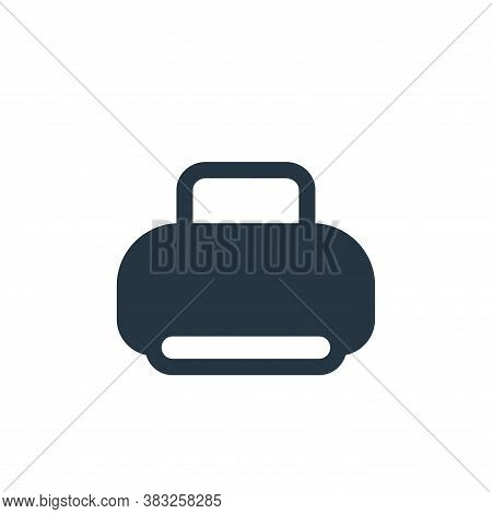 print tool icon isolated on white background from printer and fax collection. print tool icon trendy