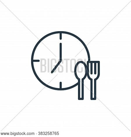 eating icon isolated on white background from health collection. eating icon trendy and modern eatin