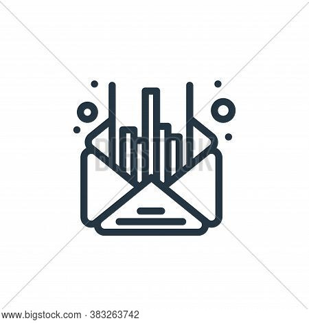 email icon isolated on white background from management collection. email icon trendy and modern ema