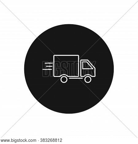 Delivery Truck Icon Isolated On White Background. Delivery Truck Icon In Trendy Design Style For Web