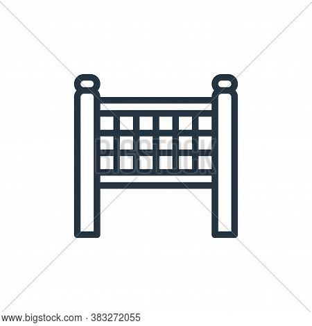 finish line icon isolated on white background from sports collection. finish line icon trendy and mo