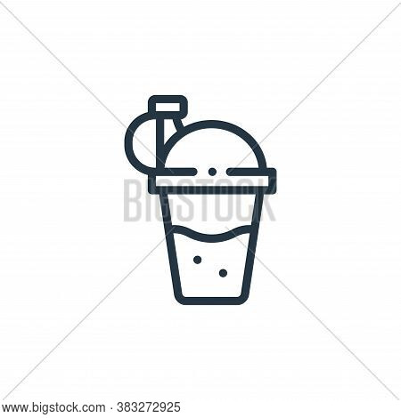 shaker icon isolated on white background from nutrition collection. shaker icon trendy and modern sh