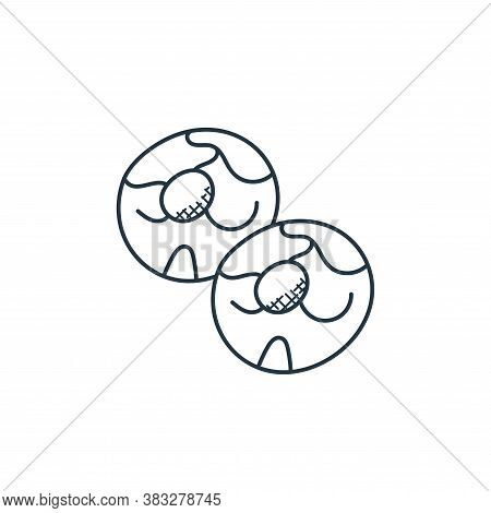 cookies icon isolated on white background from food collection. cookies icon trendy and modern cooki