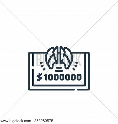 prize icon isolated on white background from esports collection. prize icon trendy and modern prize