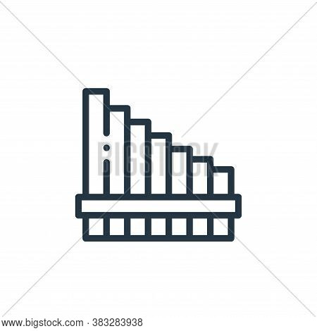 pan flute icon isolated on white background from music collection. pan flute icon trendy and modern