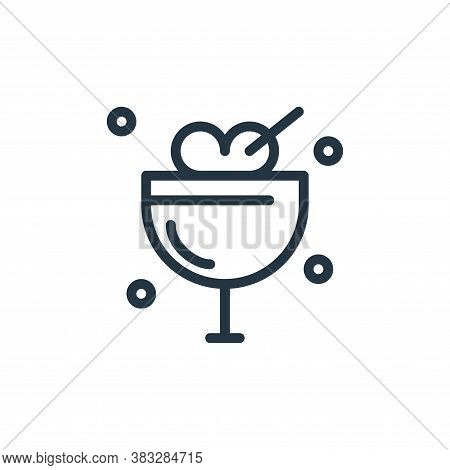ice cream icon isolated on white background from water park collection. ice cream icon trendy and mo
