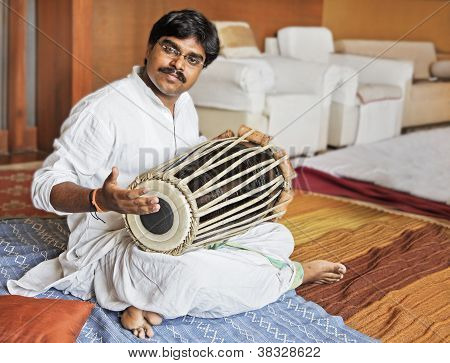 Hanumant Ghadge Tabla Accompaniment At Private Party
