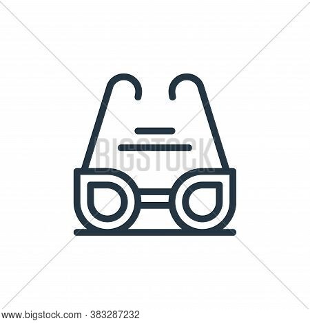 sunglasses icon isolated on white background from water park collection. sunglasses icon trendy and