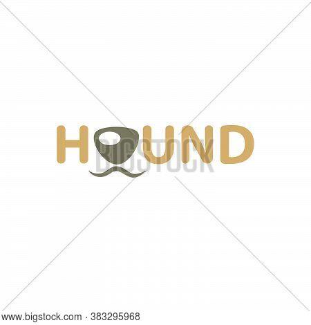 Creative And Funny Pet Hound Logo Design