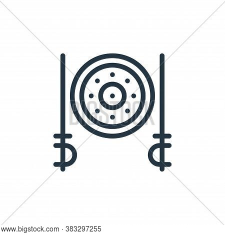 sword icon isolated on white background from sports collection. sword icon trendy and modern sword s
