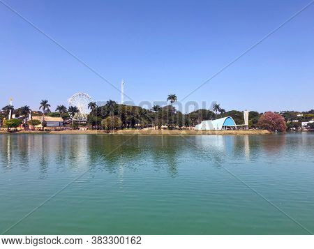 Pampulha Lagoon in Belo Horizonte, Minas Gerais