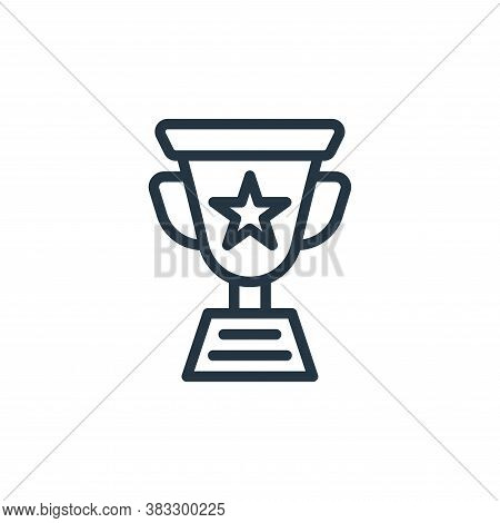 award icon isolated on white background from sports collection. award icon trendy and modern award s