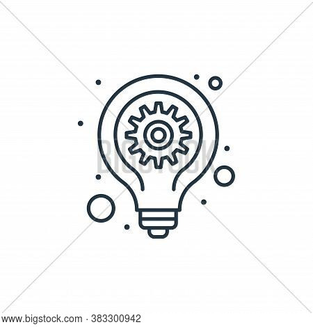 idea icon isolated on white background from seo collection. idea icon trendy and modern idea symbol