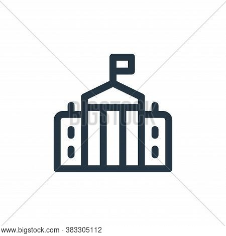 government icon isolated on white background from voting elections collection. government icon trend