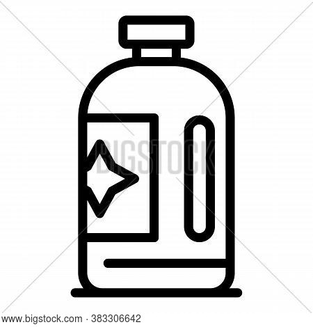 Laundry Softener Icon. Outline Laundry Softener Vector Icon For Web Design Isolated On White Backgro