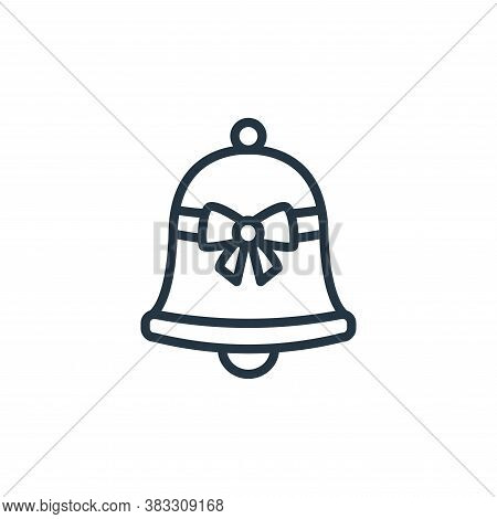 bell icon isolated on white background from easter collection. bell icon trendy and modern bell symb