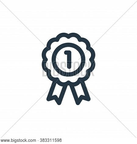 badge icon isolated on white background from customer service collection. badge icon trendy and mode