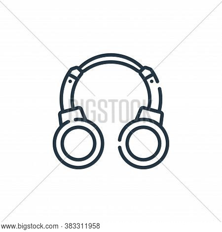 headphones icon isolated on white background from esports collection. headphones icon trendy and mod