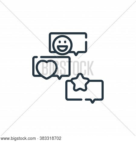 group chat icon isolated on white background from friendship collection. group chat icon trendy and