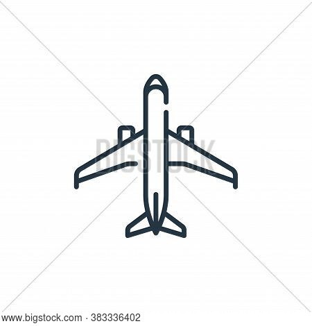 passenger icon isolated on white background from aviation collection. passenger icon trendy and mode