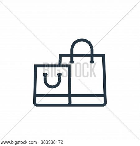 shopping icon isolated on white background from ecommerce and shopping collection. shopping icon tre
