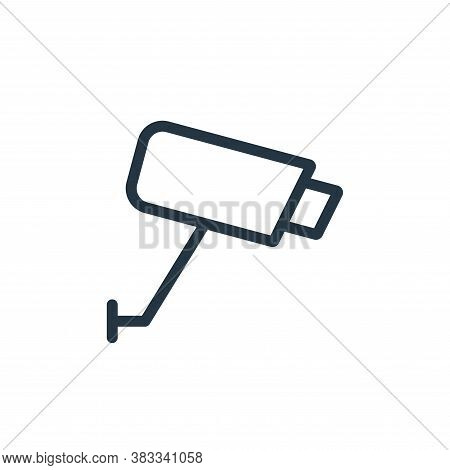 cctv icon isolated on white background from ecommerce and shopping collection. cctv icon trendy and