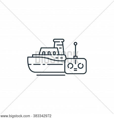 boat icon isolated on white background from kids collection. boat icon trendy and modern boat symbol