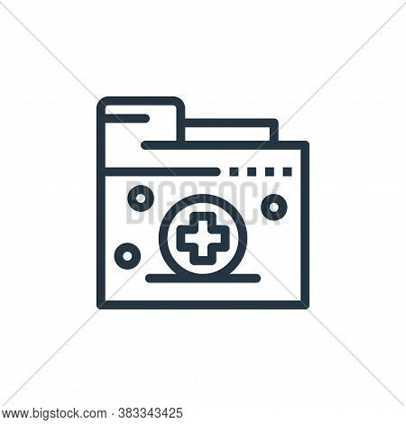 kit icon isolated on white background from medical collection. kit icon trendy and modern kit symbol