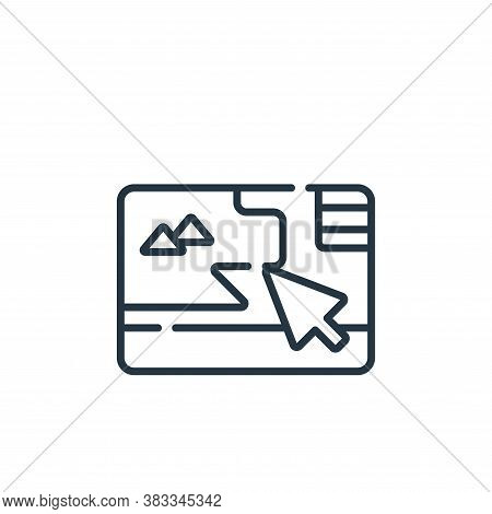 game icon isolated on white background from location collection. game icon trendy and modern game sy