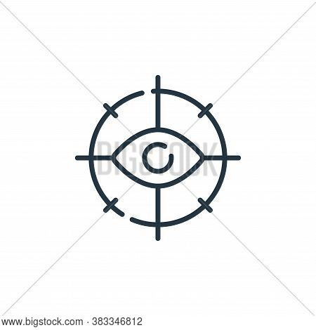 search icon isolated on white background from location collection. search icon trendy and modern sea