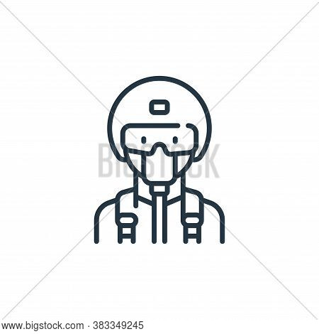 military icon isolated on white background from aviation collection. military icon trendy and modern