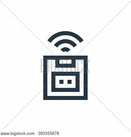 wireless icon isolated on white background from wireless technology collection. wireless icon trendy