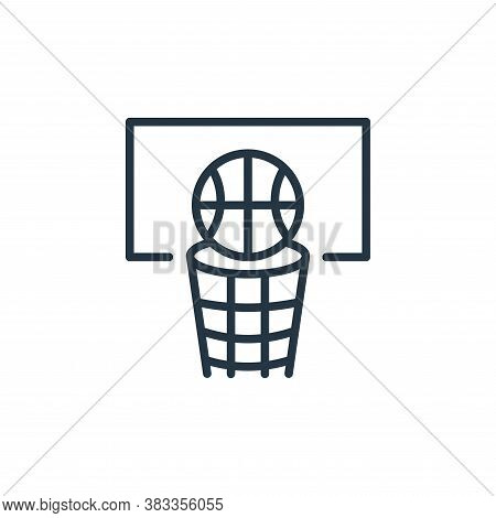 basketball icon isolated on white background from sports collection. basketball icon trendy and mode