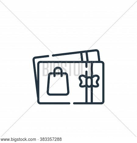 coupon icon isolated on white background from supermarket collection. coupon icon trendy and modern