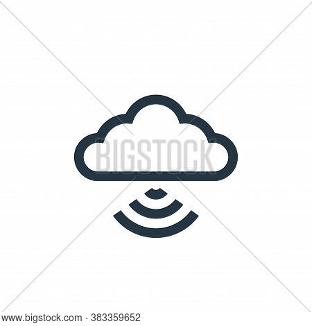 wifi icon isolated on white background from wireless technology collection. wifi icon trendy and mod