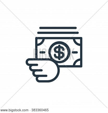 currency icon isolated on white background from finance and business collection. currency icon trend