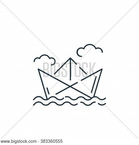 ship icon isolated on white background from kids collection. ship icon trendy and modern ship symbol