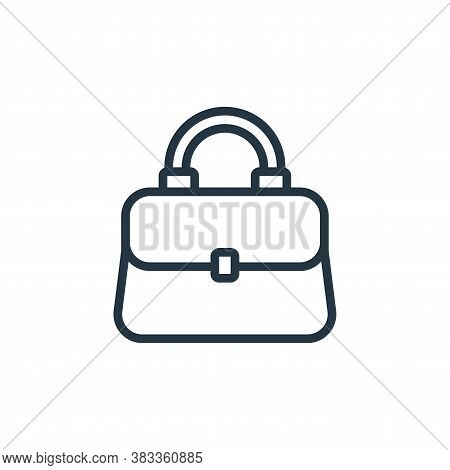 purse icon isolated on white background from ecommerce and shopping collection. purse icon trendy an