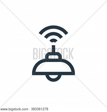 lamp icon isolated on white background from wireless technology collection. lamp icon trendy and mod
