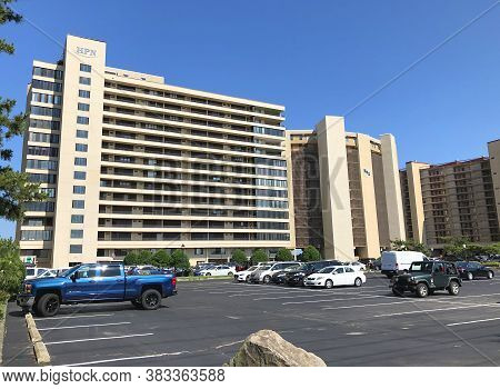 Ocean City, Md: High Point North And High Point South Oceanfront High-rise Condominium Buildings In