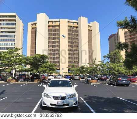 Ocean City, Md: High Point South Oceanfront High-rise Condominium Building In North Ocean City (july