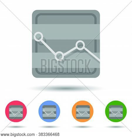 Cost Graphic Icon Vector Logo Isolated On Background