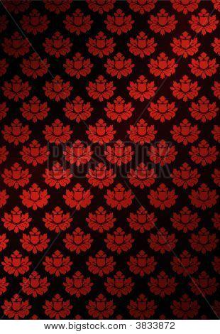 Vector Illustration Of Red Wallpaper