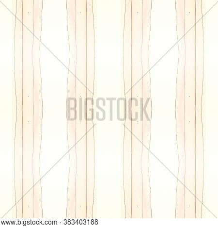 Colorful Stripes Pattern. Abstract Brushstroke Drawing. Summer Horizontal Texture. Watercolour Strip