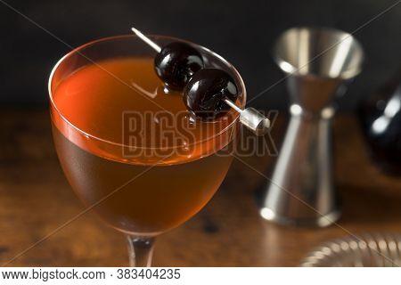 Boozy Rob Roy Cocktail