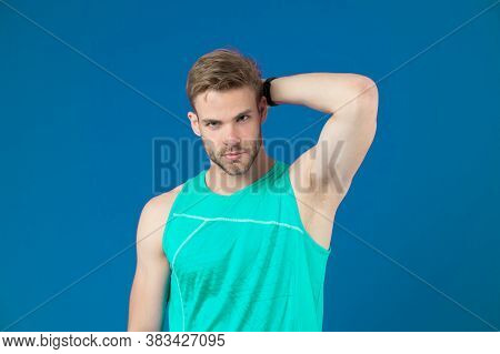 Workout Is Over. Man In Sporty Outfit Finished Daily Training. How To Avoid The Biggest Workout Mist