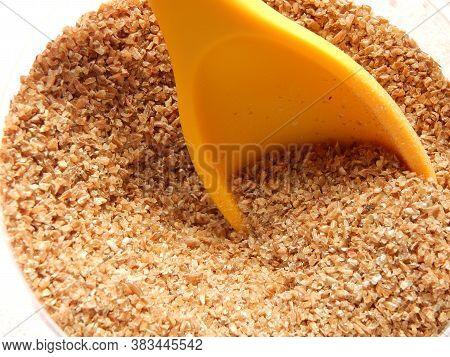 Wheat For Kibbeh Preparation. Kibe