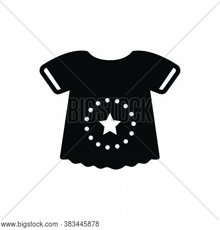 Black Solid Icon For Body-suit Shirt Cloth Dress Fashion Garment Baby-cloth  Infant
